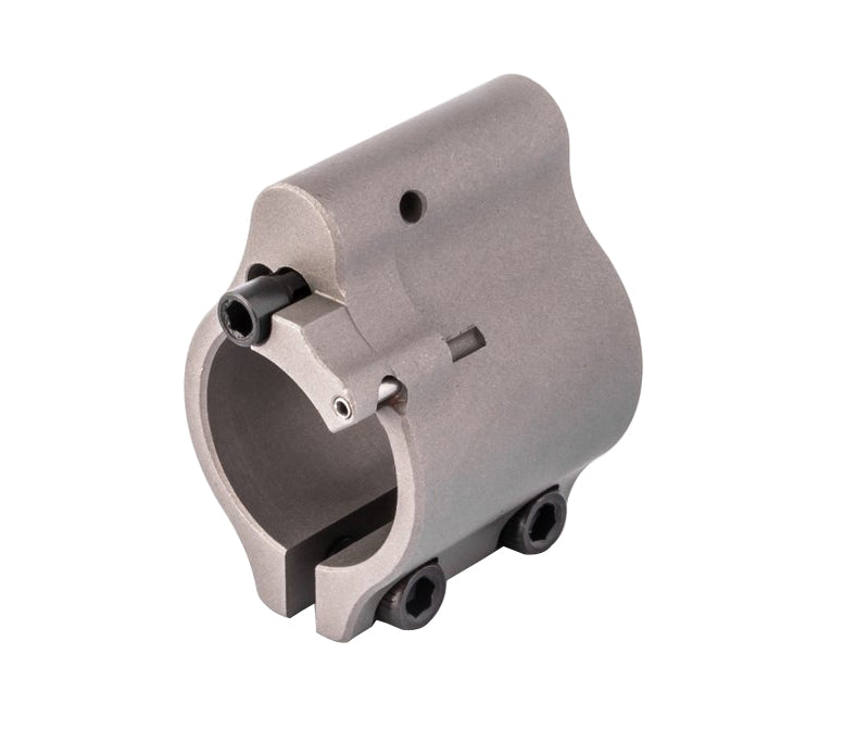 Superlative Arms .750 Adjustable Gas Block - Clamp On - Stainless Steel