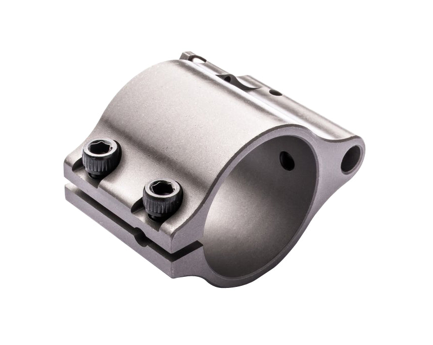 Superlative Arms .875 Adjustable Gas Block - Clamp On - Stainless Steel