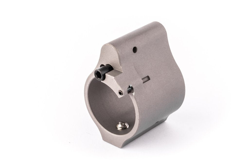 Superlative Arms .936 Adjustable Gas Block - Solid - Stainless