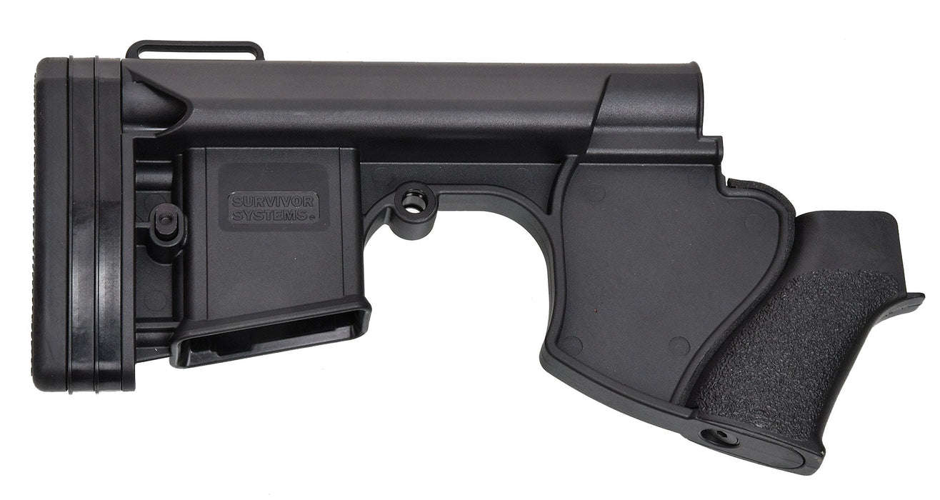 Survivor Systems Option Zero Featureless Stock - Black