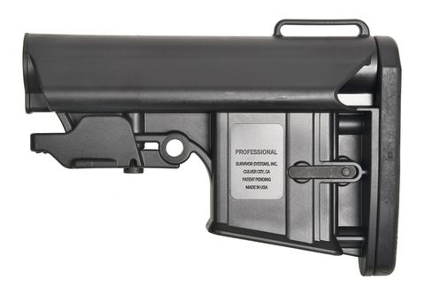 Survivor Systems Professional Collapsible Stock - Black
