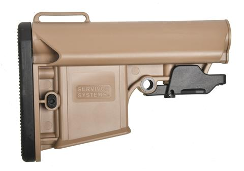 Survivor Systems Professional Collapsible Stock - FDE