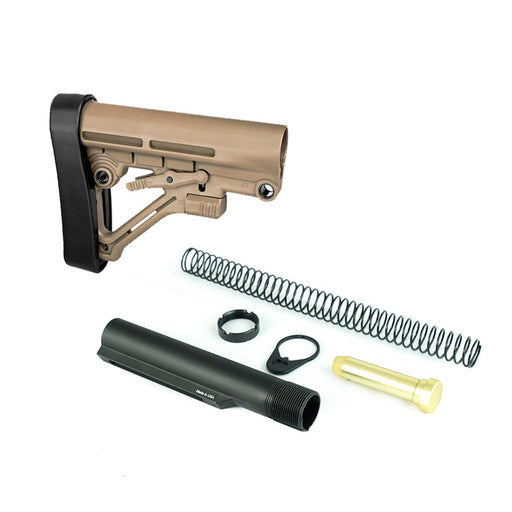 Trinity Force Omega Mil Spec Stock & Buffer Kit - Sand