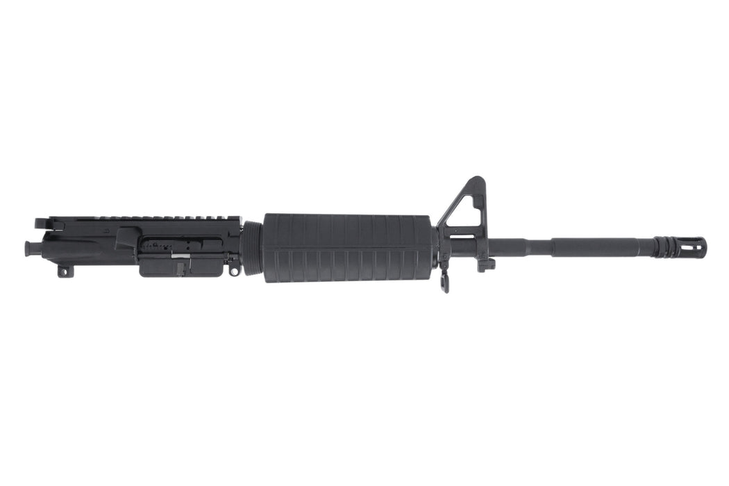 "BCA AR-15 Complete Upper Assembly, 16"" Parkerized 4150 Steel Contour Barrel, 5.56 NATO, 1:8 Twist, w/ Standard Hand Guard, Front Sight"