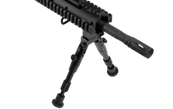"UTG Shooter's SWAT Bipod, Rubber Feet, Height 6.2""-6.7"""