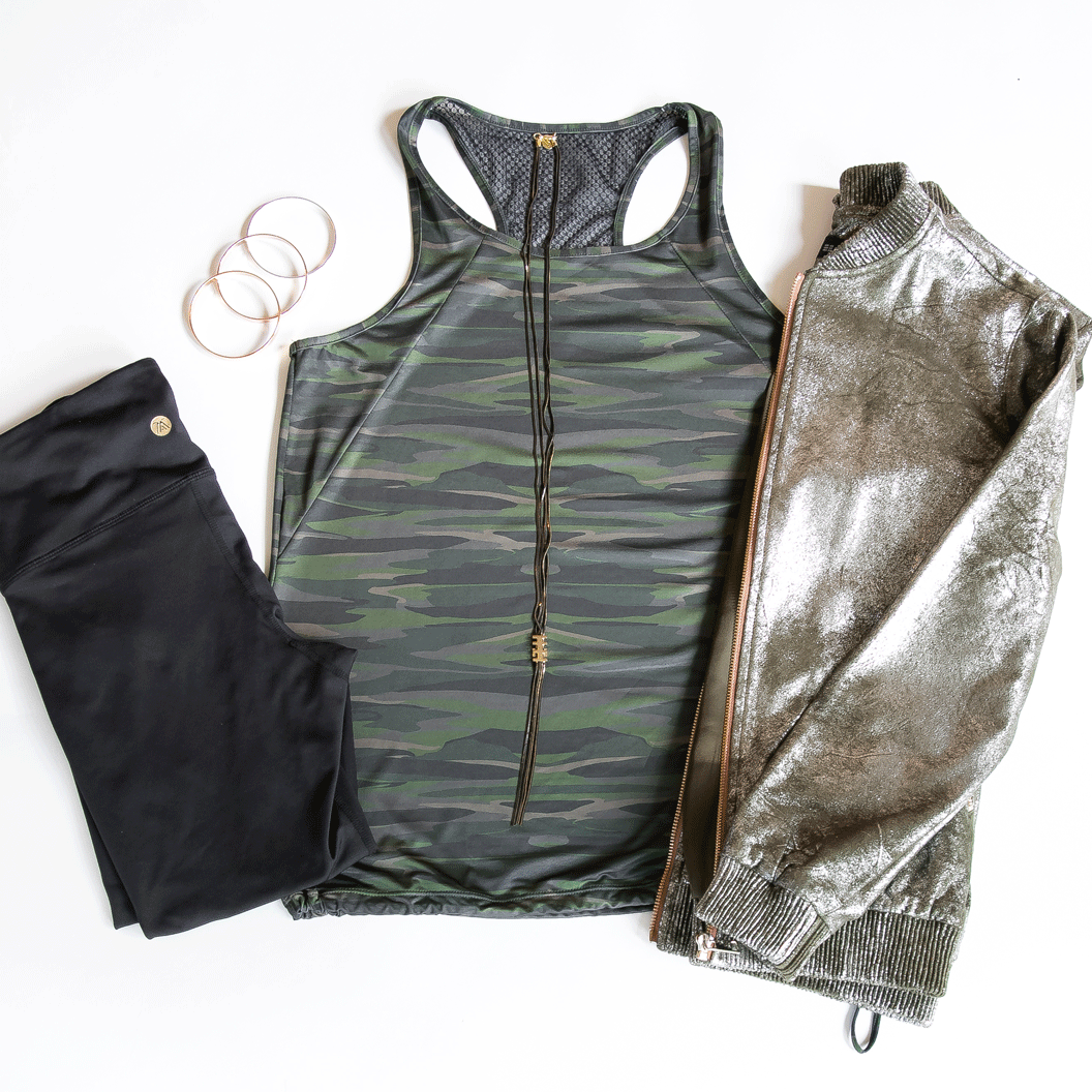 TEMA Athletics Camo Bungee