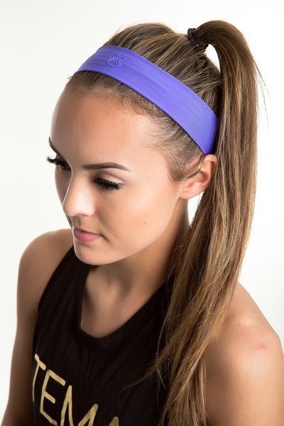 Purple Headband - TEMA Athletics