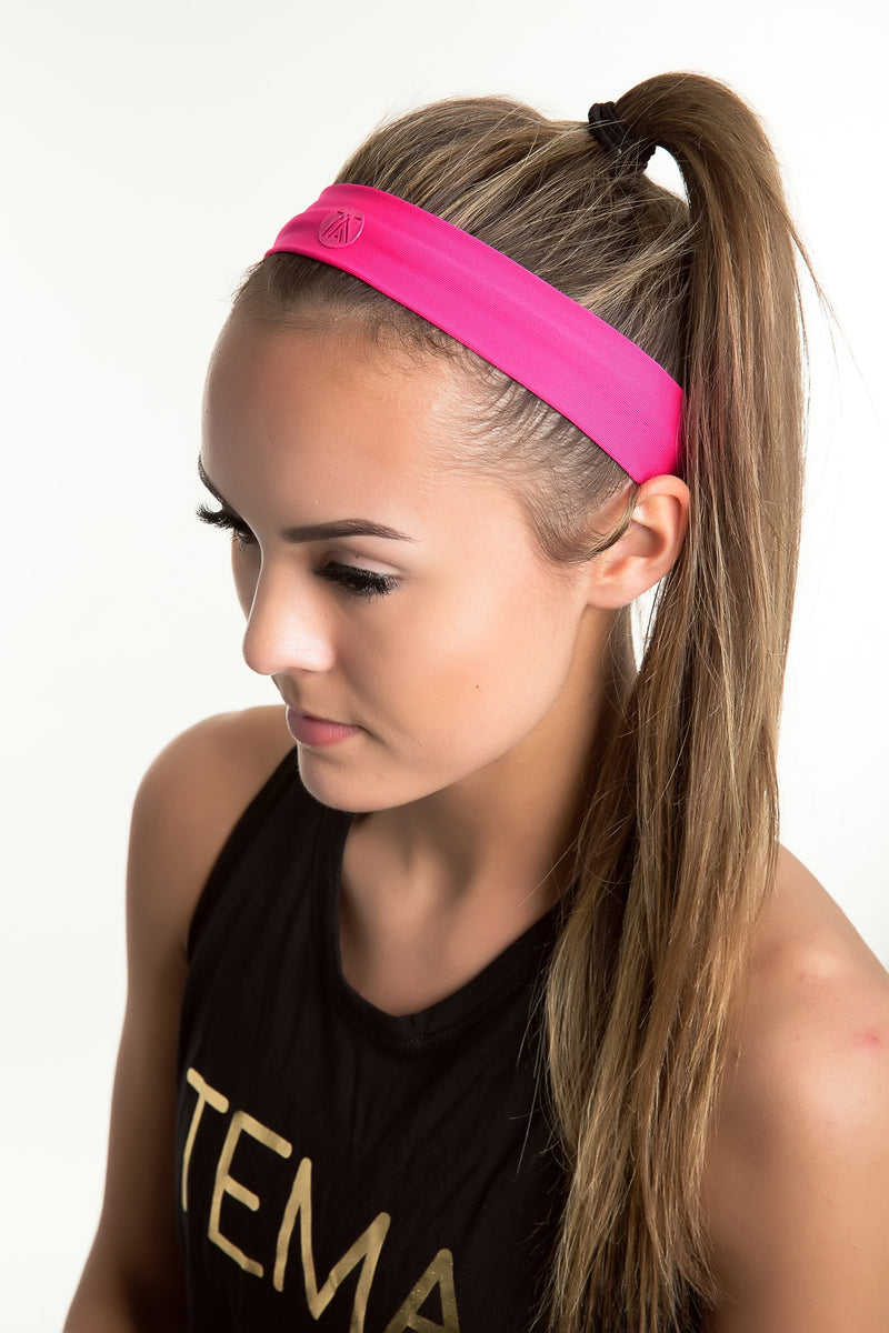 TEMA Athletics Headband - Fuchsia