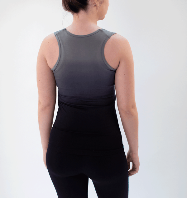 TEMA Athletics Seamless Black Ombre Tank