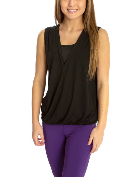Open Front Layering Top - TEMA Athletics