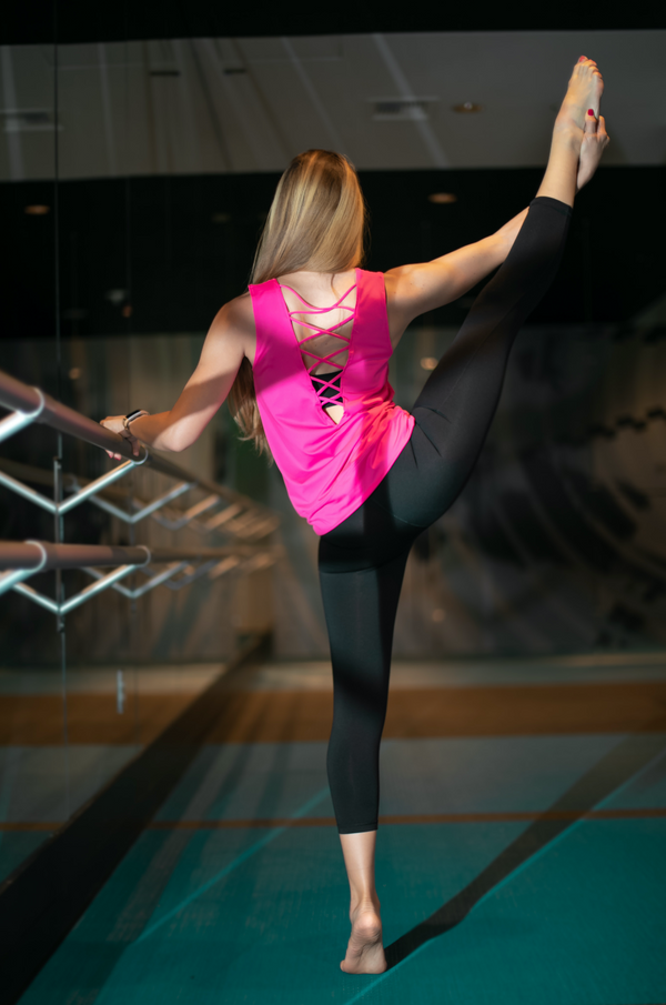 TEMA Athletics Tied Up Yoga Tank