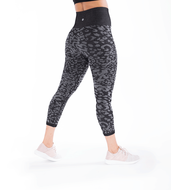 Seamless Ultra High Waist Animal Jacquard Leggings
