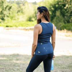 TEMA Athletics Seamless Blue Star Activewear Tank