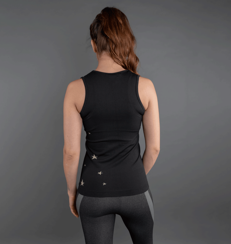 TEMA Athletics Seamless Black Star Activewear Tank