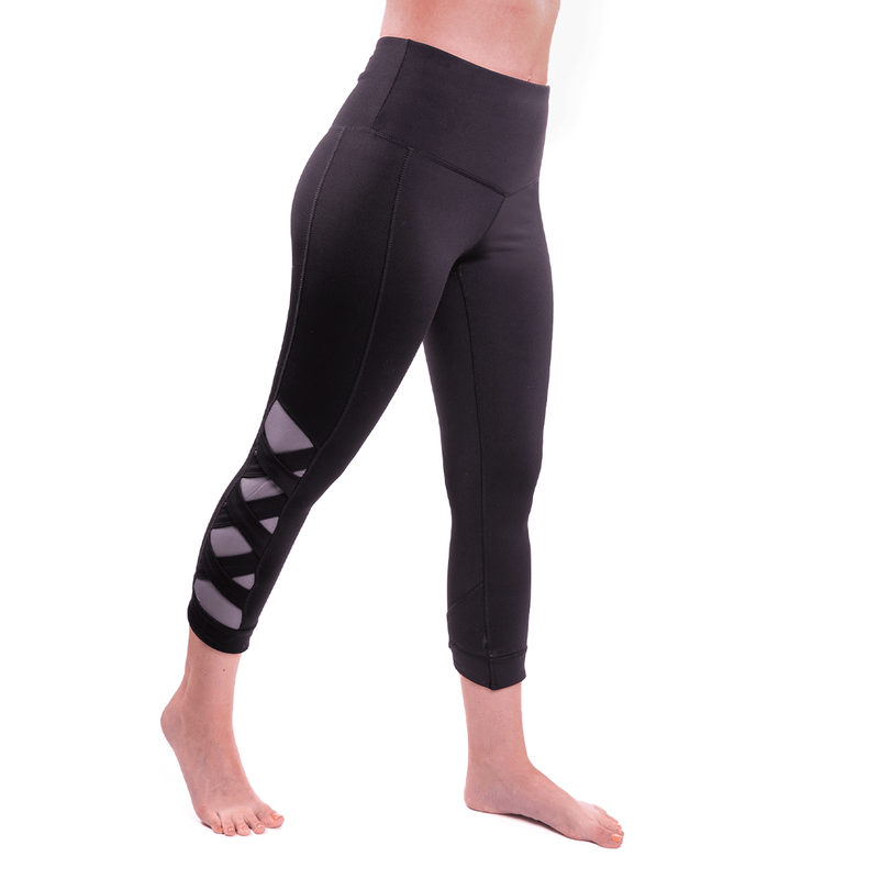TEMA Athletics High Waist Weave Leggings