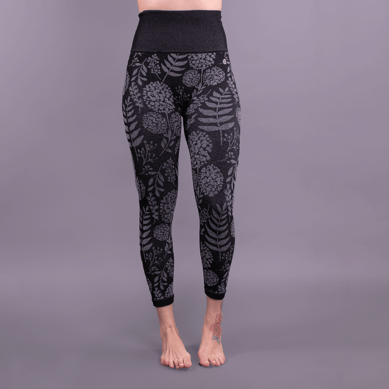 TEMA Athletics Seamless High Waist Hydrangea Print Leggings
