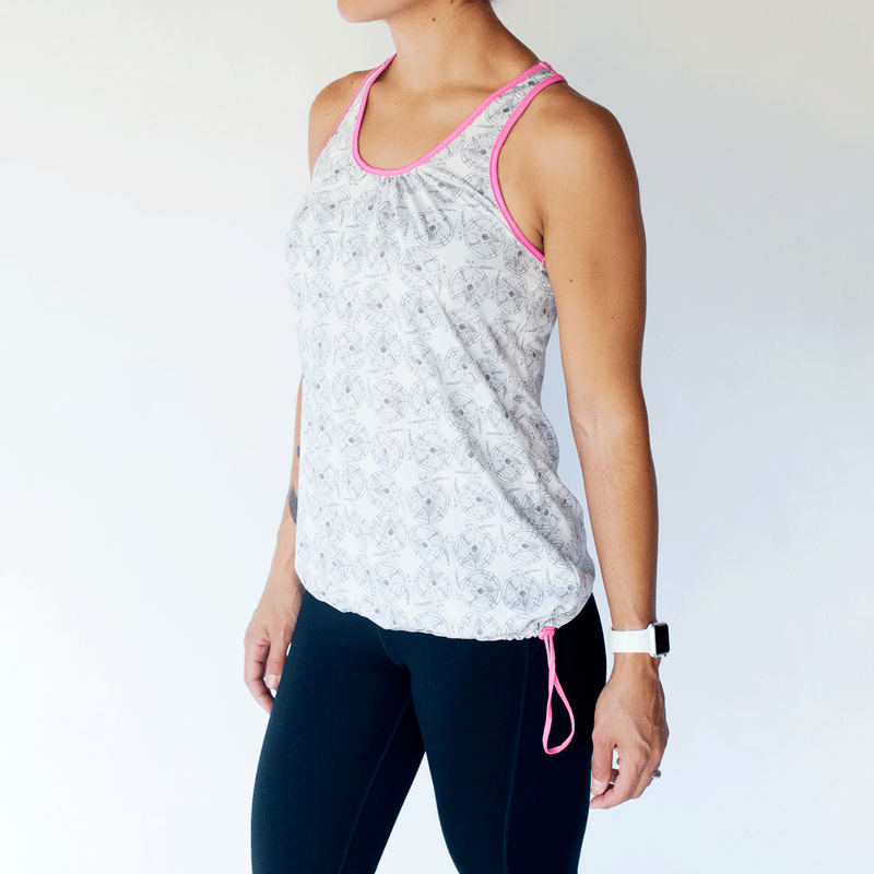TEMA Athletics Bungee Tank Top