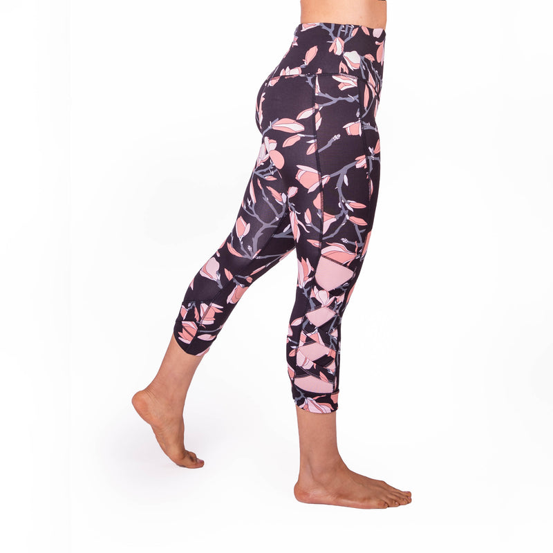 Magnolia High Waist Weave Leggings