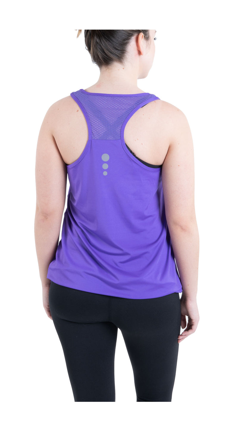 TEMA Athletics Solid Om Bungee Tank Top