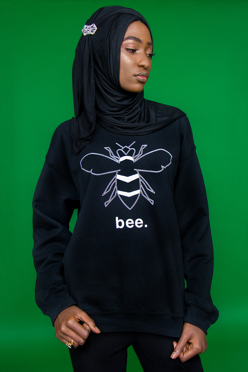 BLACK BEE SWEATER