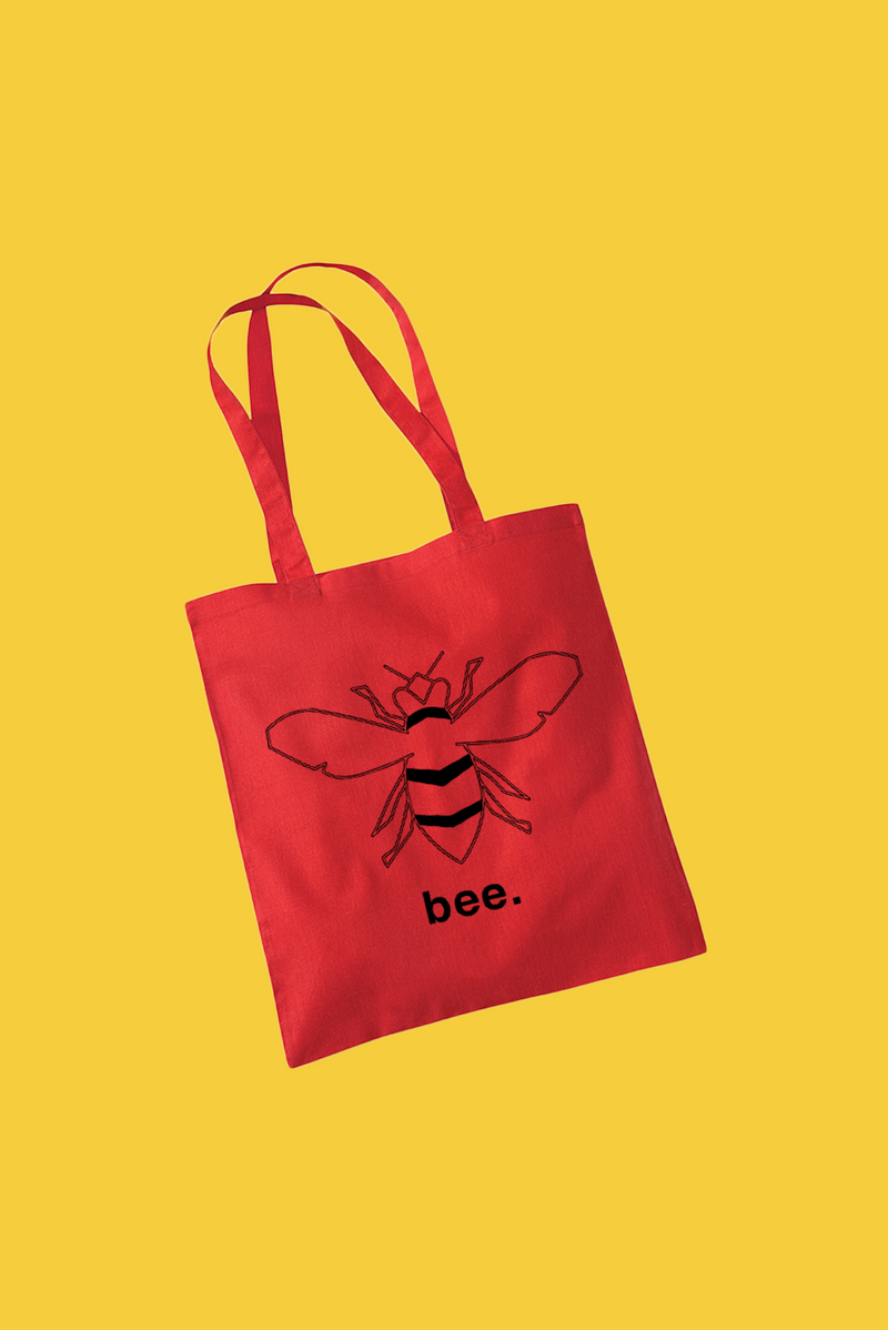 Bee Tote - Red