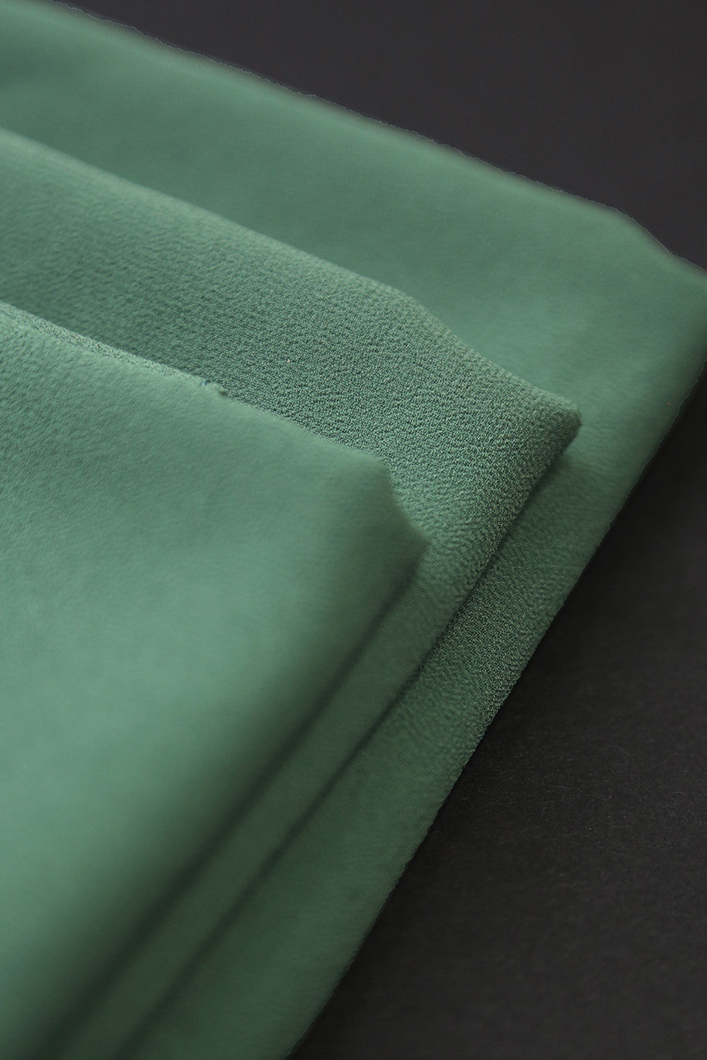 Tea Green Georgette Scarf - Sold Out