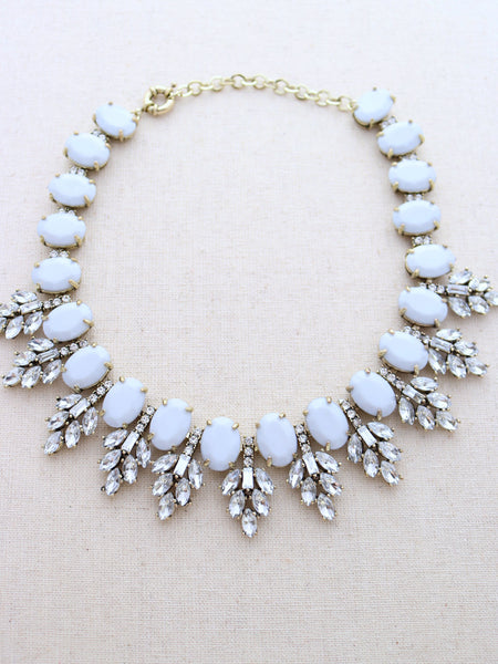 Kuakini Statement Necklace {Gray}