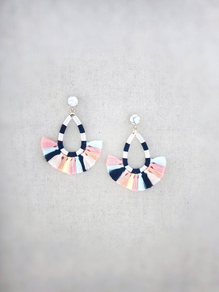 Hilo Tassel Earrings {Multicolor}