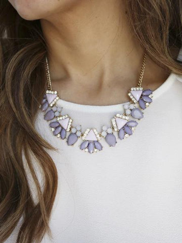 Hauakea Necklace {Lilac}