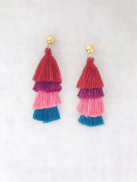 Malihini Tassel Earrings