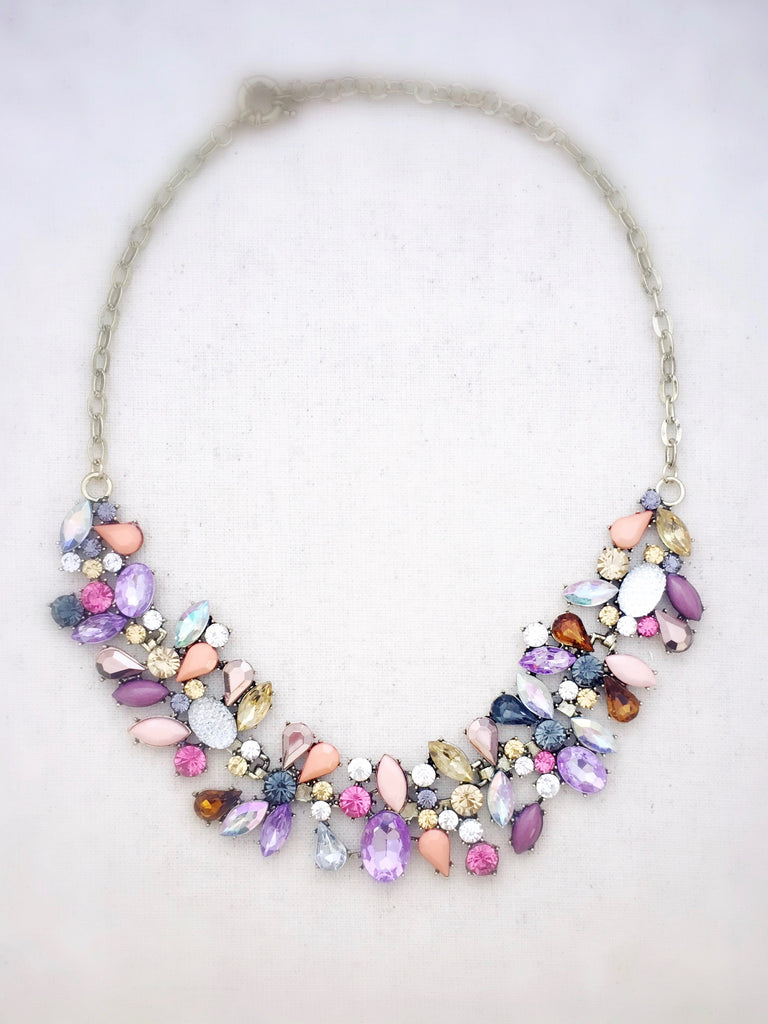 product annalouoflondon necklace pastel original vintage london lou of by anna statement