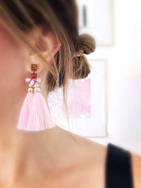 Kihei Tassel Earrings