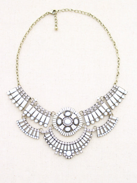 09bc73e3ada58e white statement necklaces statement jewelry crystal statement necklace  womens necklace necklaces for women silver statement necklace ...