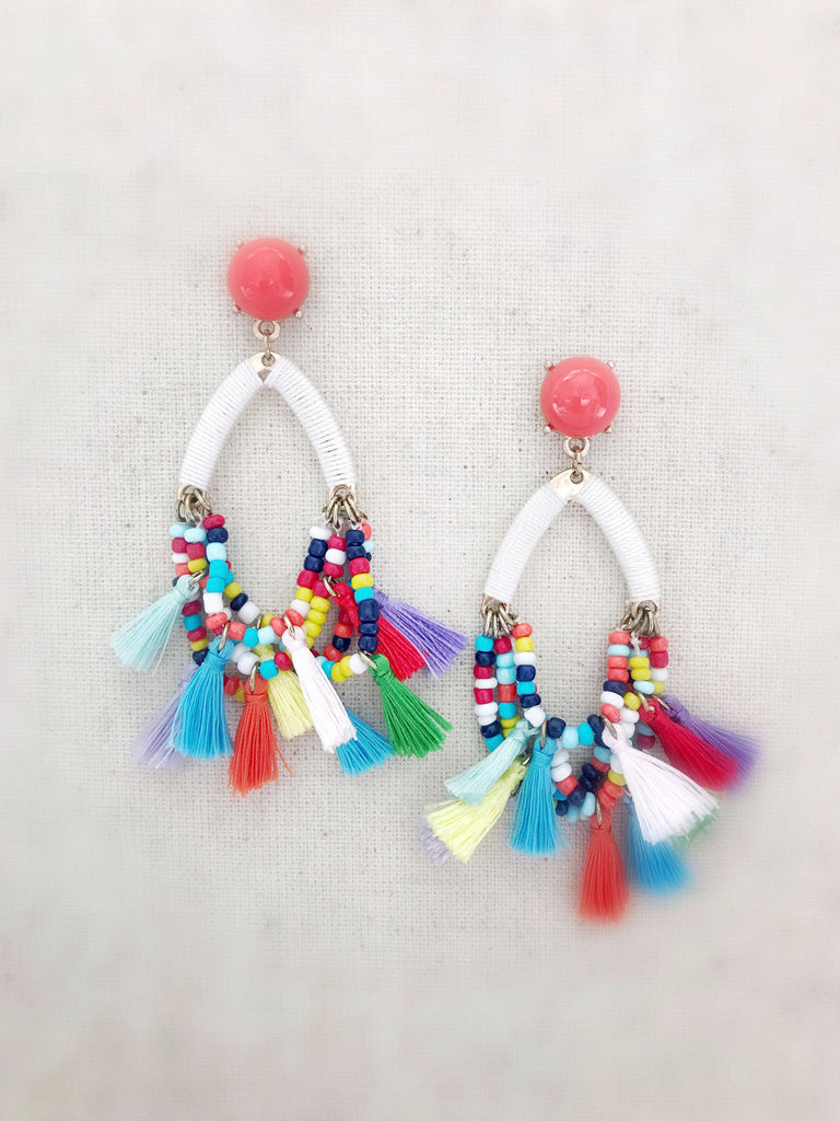 colored gumdrop kate i tradesy spade multi chandelier earrings