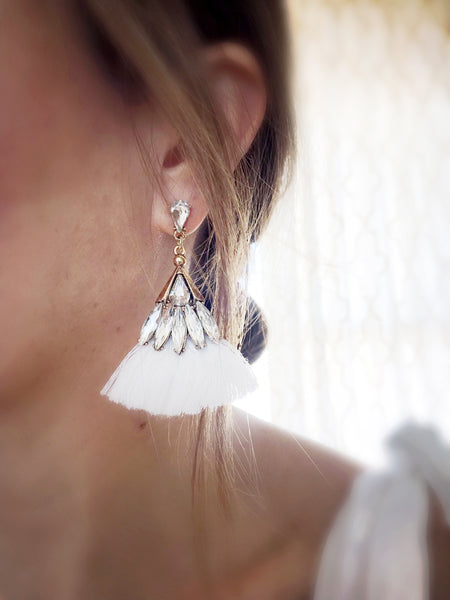 Leahi Earrings {Gray}