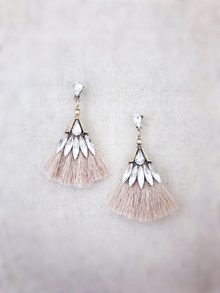 Leahi Earrings {Tan}