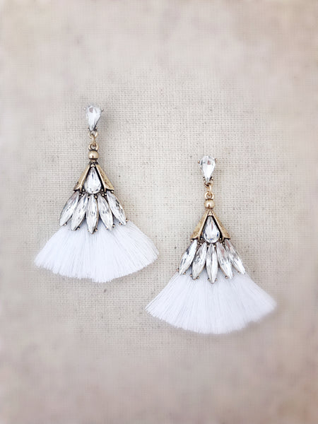 Leahi Earrings {White}
