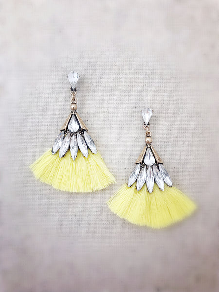 Leahi Earrings {Yellow}