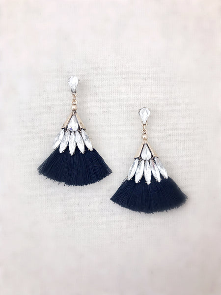 Leahi Earrings {Black}