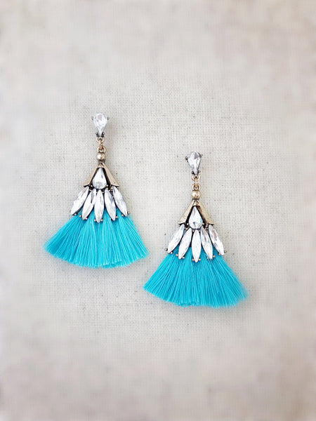 Leahi Earrings {Blue}
