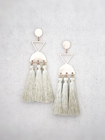 Molokai Tassel Earrings