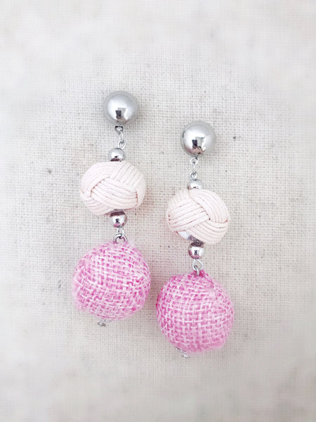 Nanakuli Earrings {Blush Pink}