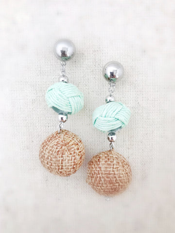 Nanakuli Earrings {Mint Green}