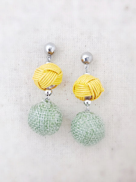 Nanakuli Earrings {Yellow}