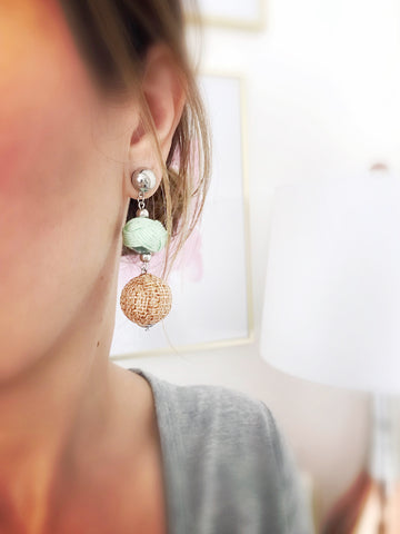 Nanakuli Earrings {Pink}