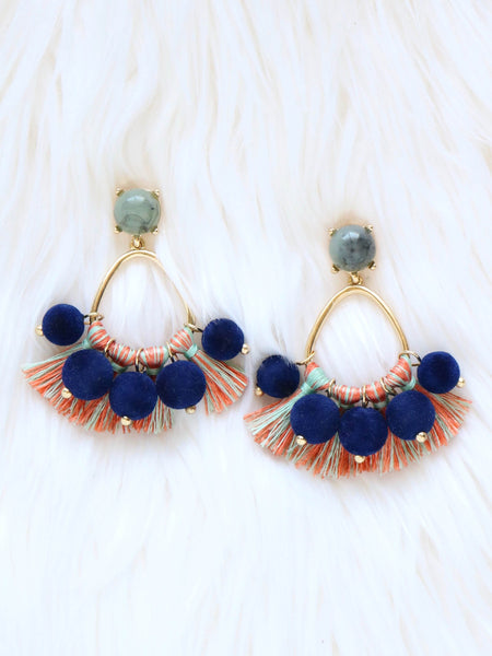 Kukui Tassel Earrings