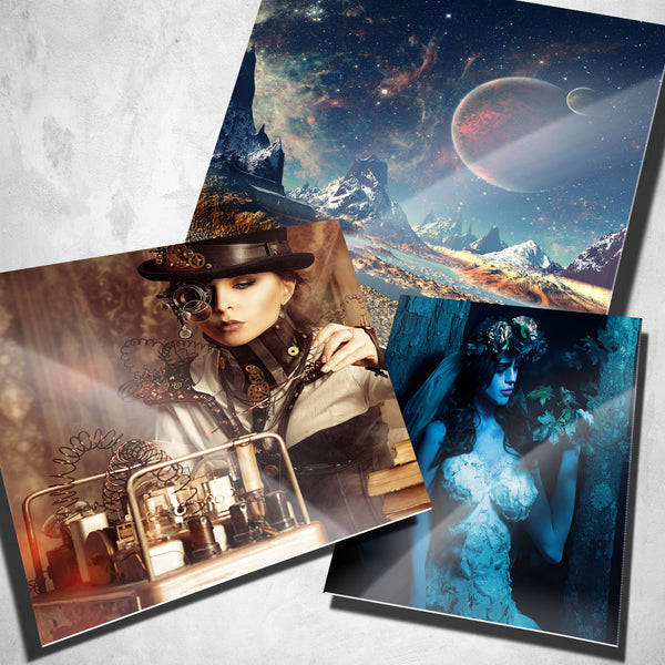 10-Pack of 4x6 Metal Photo Prints