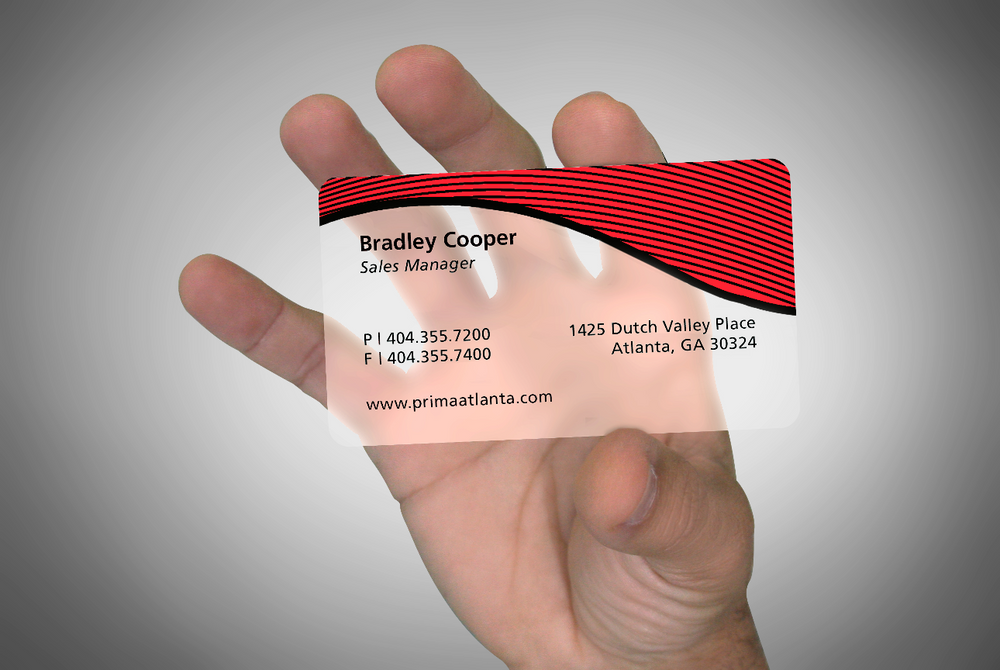 Plastic Business Cards (Frosted) – PIC PIC PRINTS