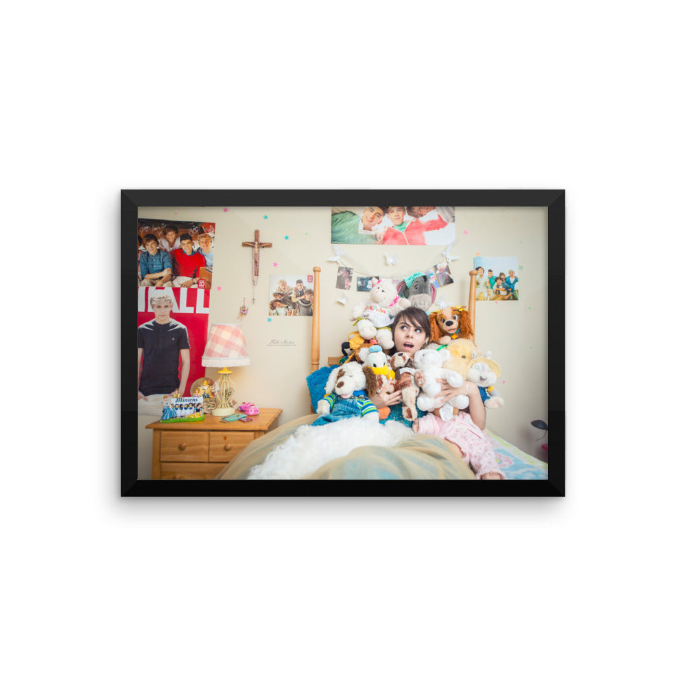Premium Luster Photo Paper Framed Poster