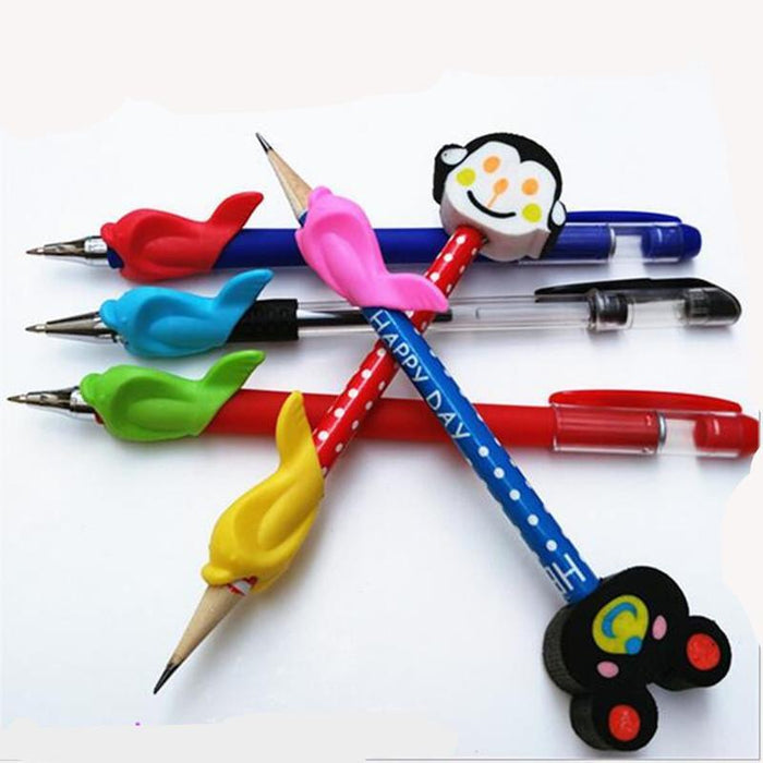 15pieces Dolphin Pencil Grips - CrazyPassionateAbout.com